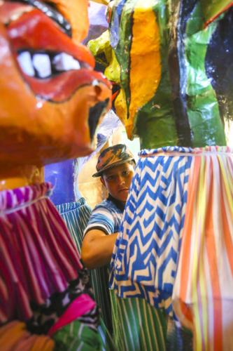 El retrato de la ilusión, un sueño de colores y formas, debidamente musicalizado por las parranderas notas de la cimarrona. ¡Algún día!