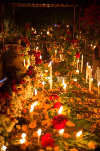 Santa María de Atzompa. 1 noviembre 2018. 1:35am