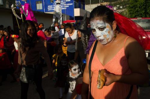 Central de Abastos, Oaxaca. 29 octubre 2018. 4:53pm