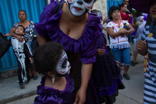 Central de Abastos, Oaxaca. 29 octubre 2018. 5:32pm