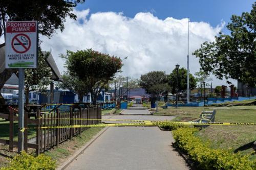 Costado Noreste Parque Coronado, SJ, Costa Rica. Cerrado por Covid-19 Marzo 2020.