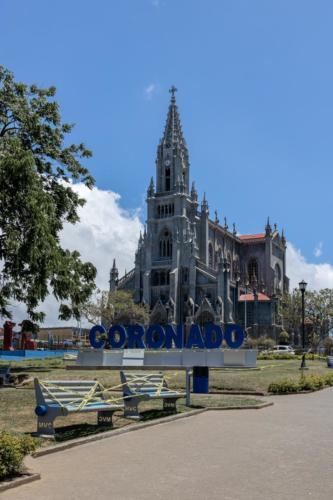 Parque Coronado, SJ, Costa Rica. Cerrado por Covid-19 Marzo,2020
