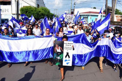 Marcha Madres de Abril, Chinandega.