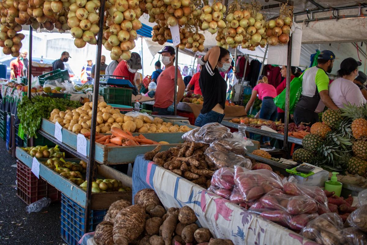 Feria del Agricultor, Vázquez de Coronado durante la pandemia de Covid-19, Marzo 2020.