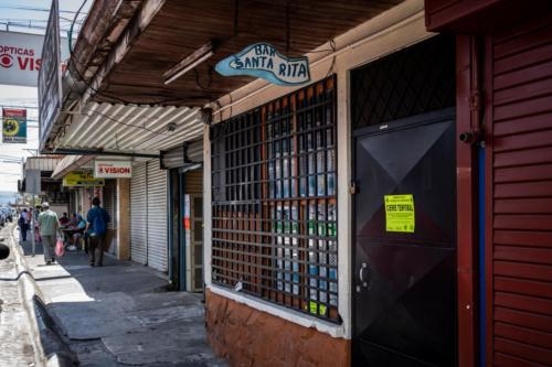 Comercios Vázquez de Coronado, San José, Costa Rica. Marzo 2020, Pandemia Covid-19