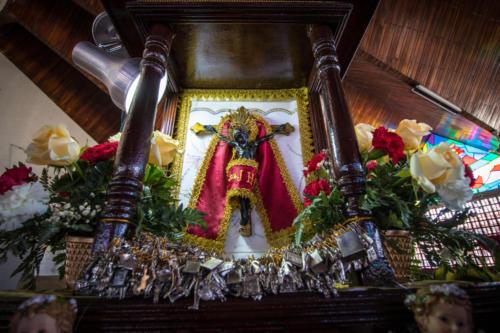 El eje de las fiestas; se apareció un cristo negro en un palo de coyol hace 218 años. La excusa perfecta para celebrar.