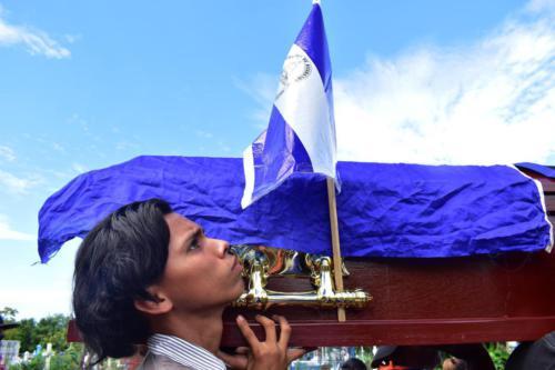 Entierro Marcos Antonio Padilla Díaz.
